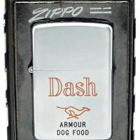 1951 Zippo Lighter - Dash Armour Dog Food