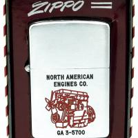 1955 Zippo Lighter North American Engines