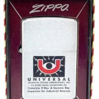 1959 Zippo Advertising Universal Technical Testing Labs