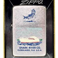 1963 Zippo Lighter - Shark River Co. Everglades, FL