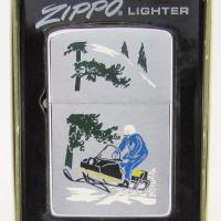 1970 Zippo two Panel Sports Series Snowmobiler.JPG