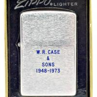 1973 Zippo Lighter - WR Case & Sons Retirement Lighter