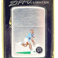 1974 Zippo Lighter Sports Series Tennis Player