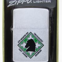 4th Mechanized Infantry Division, Fort Carson, Colorado Zippo.JPG