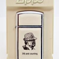 1981 Paul BEAR Bryant Alabama Foolball Coach Zippo Ultralight Slim