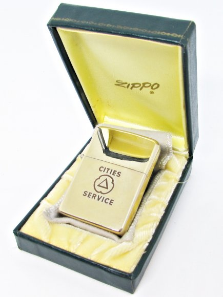 1955 Zippo 10k Gold Filled Cities Service