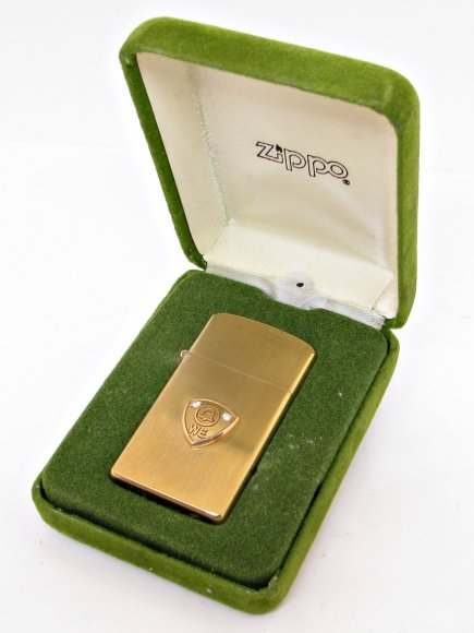 1970's Zippo 10k Gold Filled Western Electric