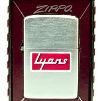 1956 Zippo Airbrushed Town & Country Lyons Advertising