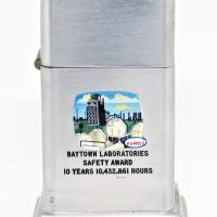1960's Zippo Barcroft with Town & Country Advertising for Humble Oil