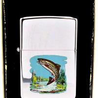 1979 Rare Test Model Zippo Jumping Trout