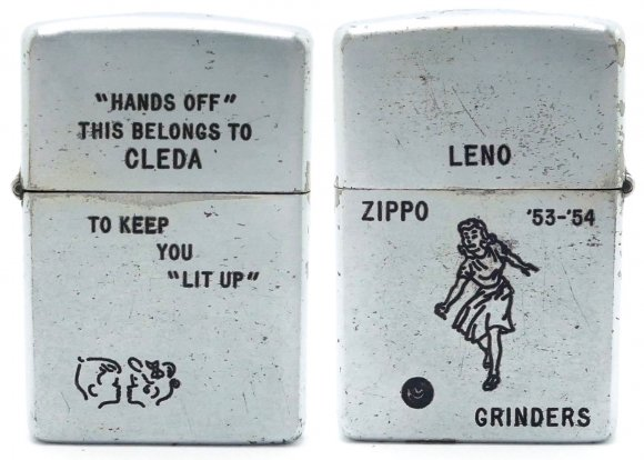 1954 Zippo Employees Personal Lighter