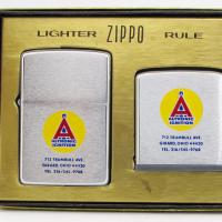 1973 Zippo Altronic Ignition 2 Piece Gift Set.JPG