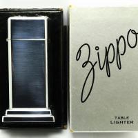 1948 Zippo 2nd Model Barcroft Table Lighter - Unused in the Box